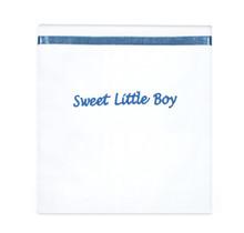 Laken Sweet Little Boy Silver Blue