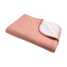 Pique Winter Blanket Grey Pink
