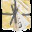 Briljant Baby Organic Hydrofiel Monddoekje Botanic Geel