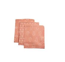 Hydrofiel Washandje Nijntje Smile Coral Pink & Wit