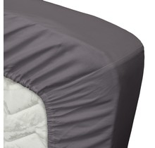 Satin Fitted Sheet Anthracite