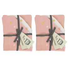 Hydrofiel Washandje Sunny Pink - 2 Pack
