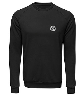 HOW Sweatshirt Zwart Unisex