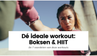 Dé ideale workout: 7 voordelen van boksen en HIIT