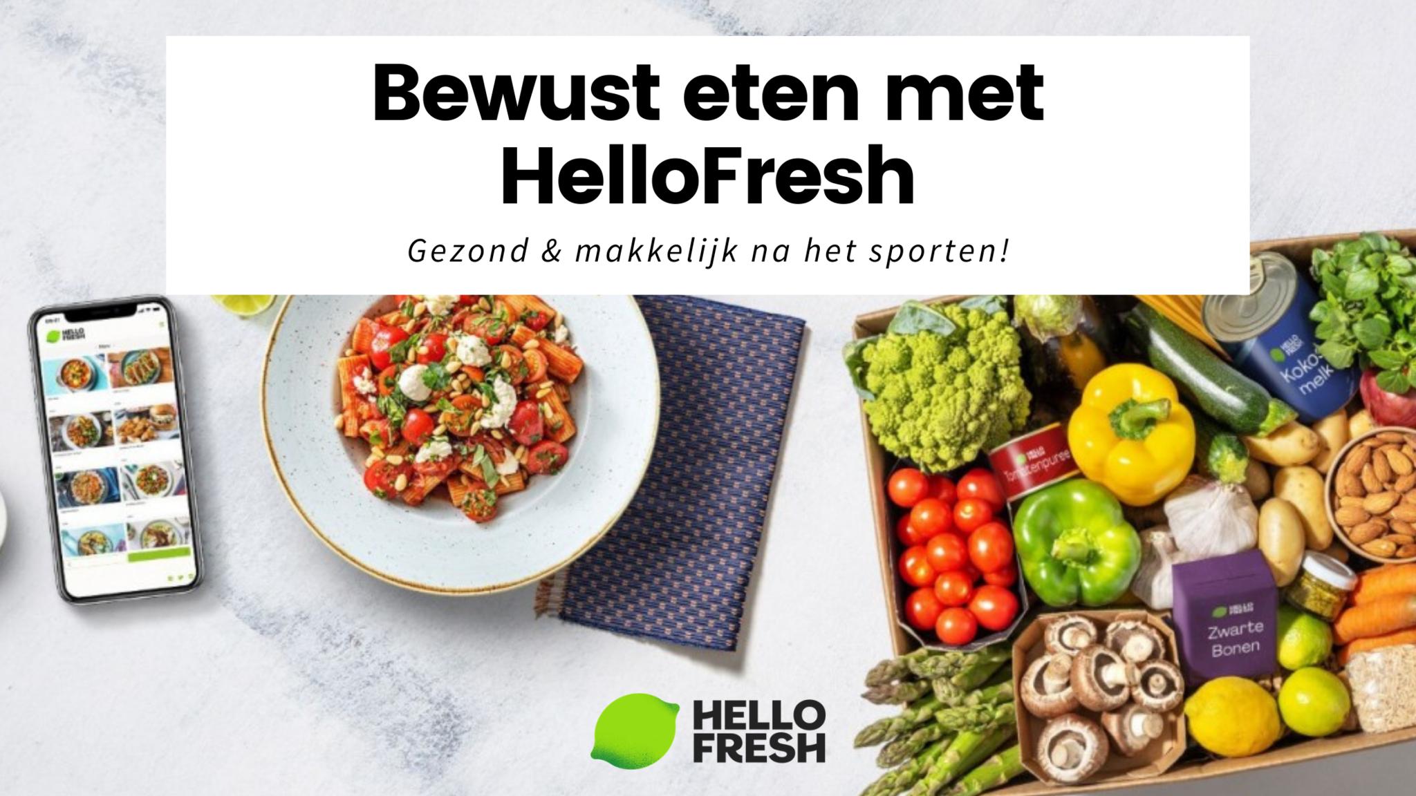 House of Workouts verzorgt de workouts, HelloFresh ondersteund je in de keuken