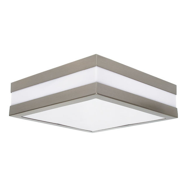 Kanlux IP44 wand / plafondlamp vierkant 2x E27 fitting