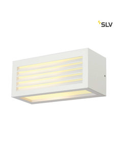 SLV Wandlamp IP44 wit