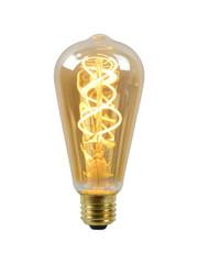 Lucide LED Lamp Long Amber E27 5W dimbaar