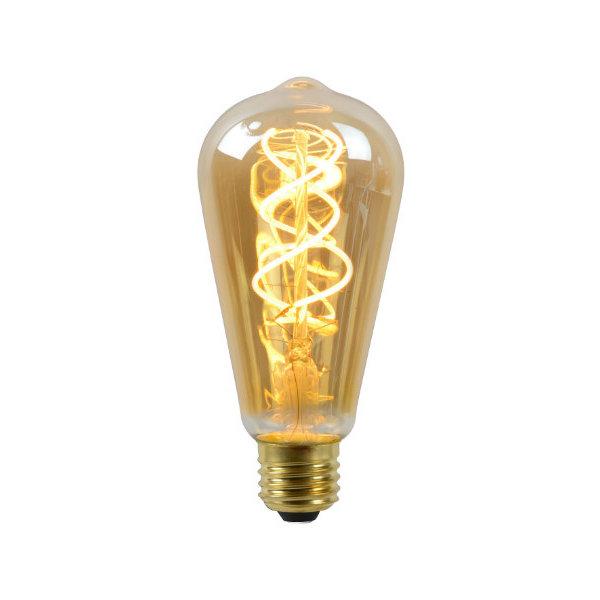 Lucide LED Lamp Long Amber 2200K E27 5 Watt dimbaar
