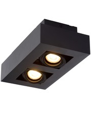 Lucide Moderne Dim to Warm LED zwart 2 spots