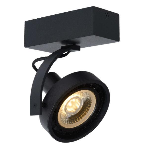 Lucide Grote LED spot zwart dimbaar