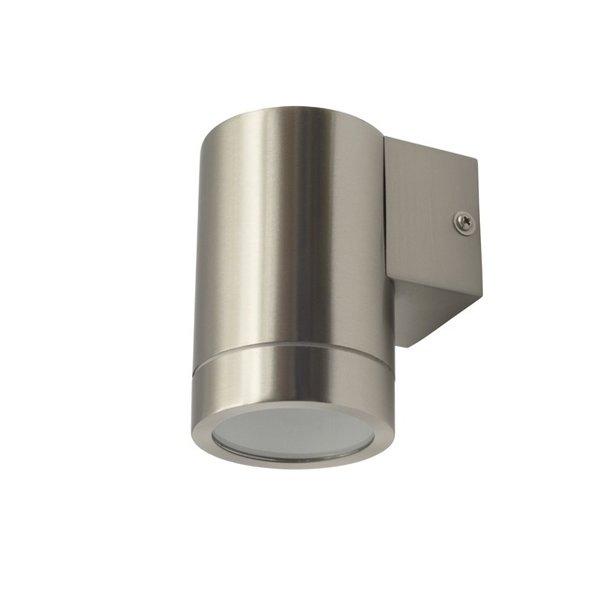 Kanlux Wandlamp RVS koker op of neer schijnend 230 Volt