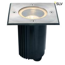 SLV Grondspot RVS-316 vierkant GU10 IP67 kantelbaar