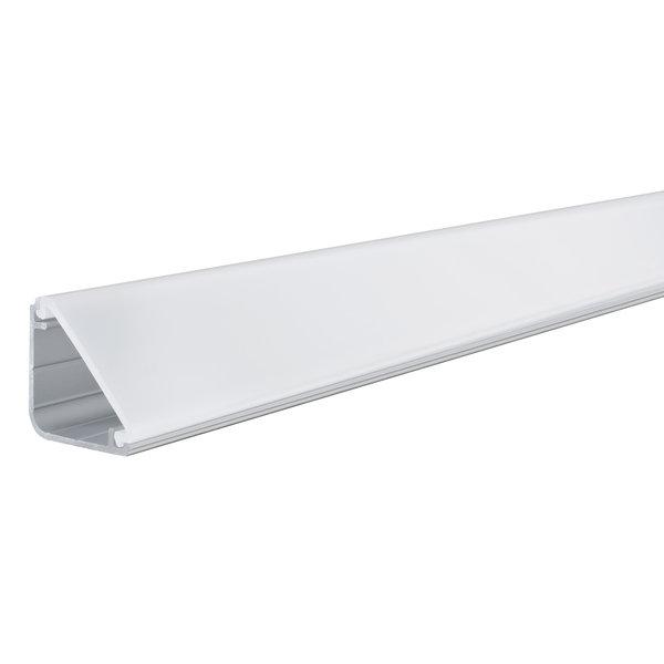 Paulmann Profiel hoek 1 meter voor LED strips inclusief diffusor