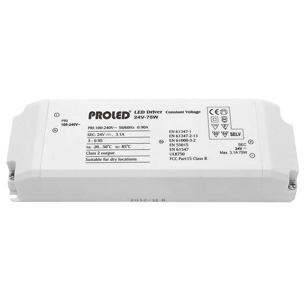 Proled LED Voeding 24VDC 40 Watt