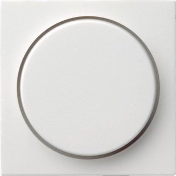 Gira Centraalplaat met dimmerknop Systeem 55 wit