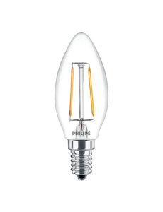 Philips LED Lamp E14 2W 2700K Warm wit
