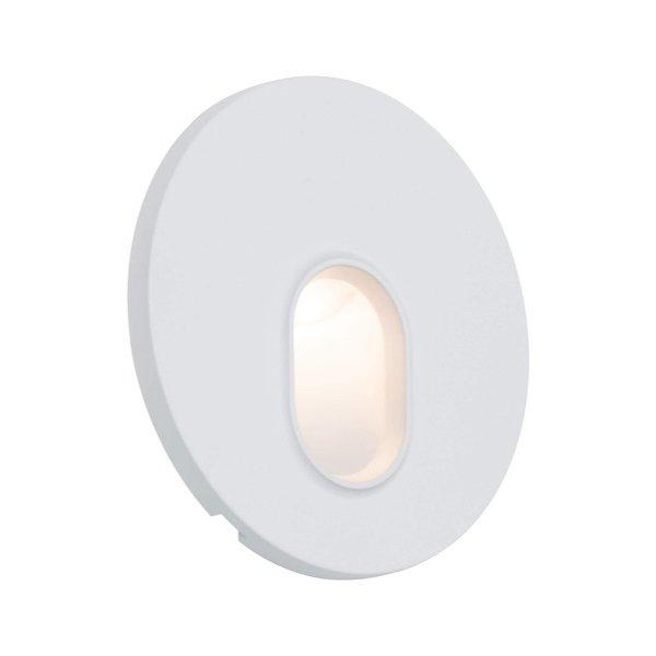 Paulmann Wand inbouw LED spot rond wit