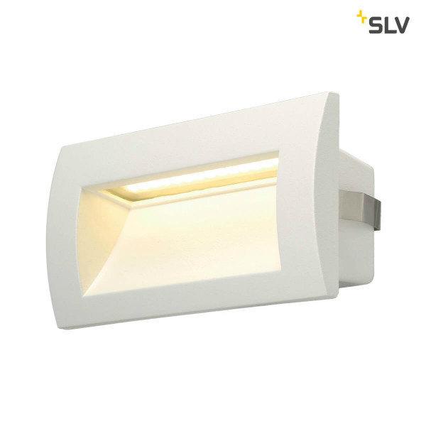 SLV Wand inbouw LED spot wit IP55
