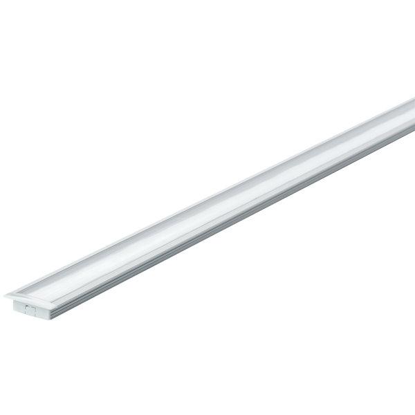 Paulmann Profiel inbouw 1 meter voor LED strips inclusief diffuser
