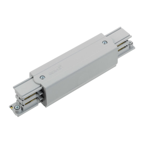 Global Trac Lighting Systems 3-Fase-Rail midden voeding grijs