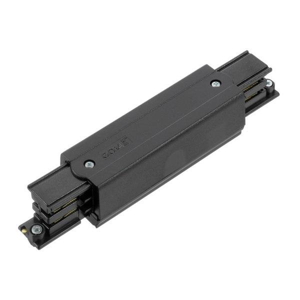 Global Trac Lighting Systems 3-Fase-Rail midden voeding zwart