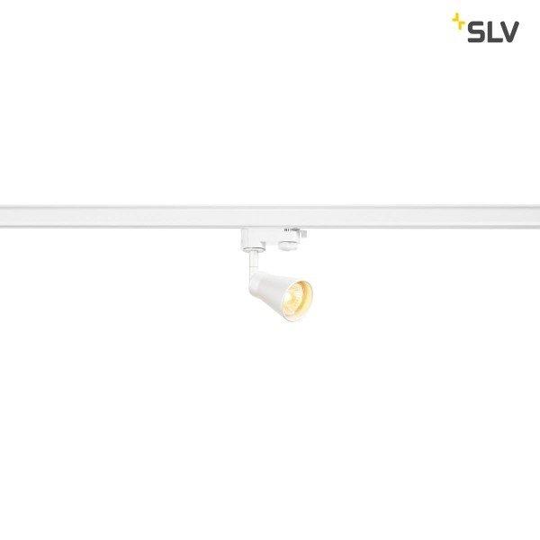 SLV 3-Fase-Rail spot Avo GU10 wit