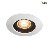 SLV IP65 inbouw spotje voor badkamers en buiten wit GU10