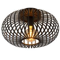 Lucide Plafondlamp E27 metalen kooi zwart