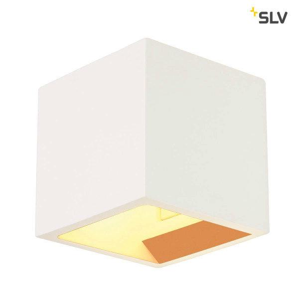 SLV Wandlamp gips blok schilderbaar