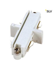 SLV 1-Fase-Rail doorverbinder wit