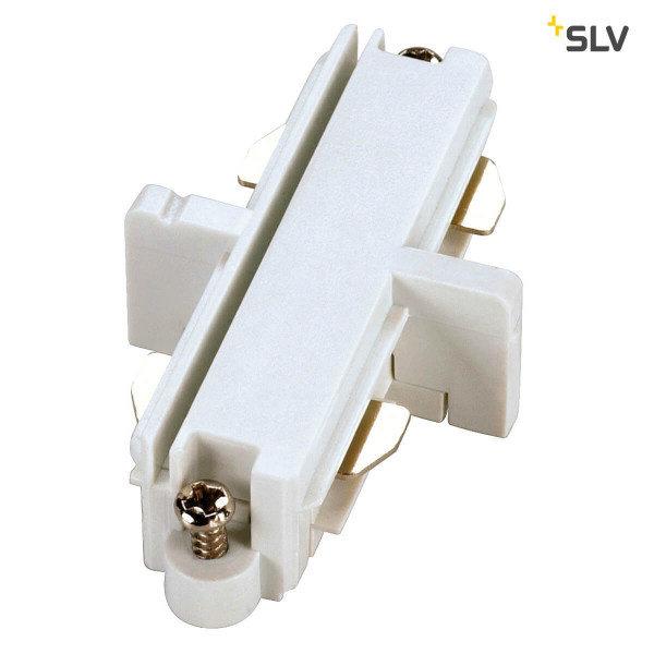 SLV 1-Fase-Rail elektrische doorverbinder wit