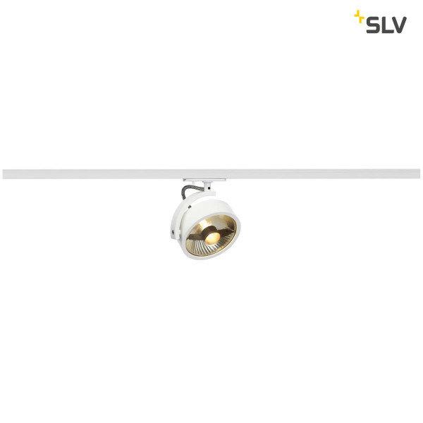 SLV 1-Fase-Rail spot Kalu Track ES111 wit