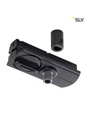 SLV 1-Fase-Rail adapter zwart