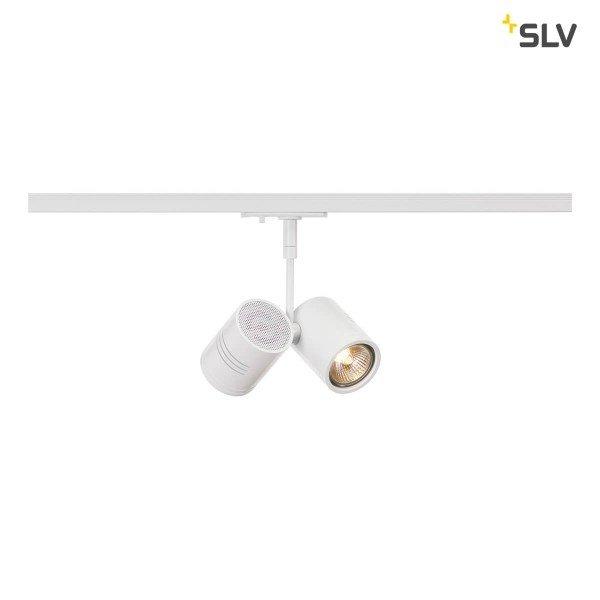 SLV 1-Fase-Rail spot Bima Double GU10 wit