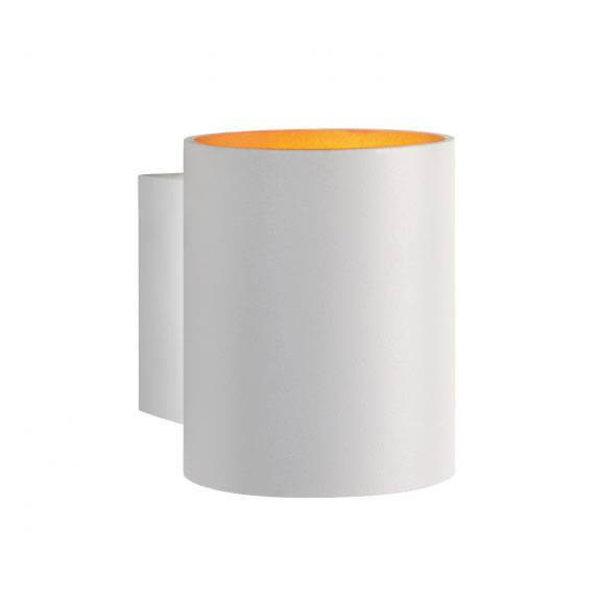 Spectrum LED Wandlamp wit goud koker G9