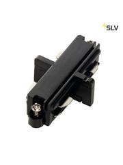 SLV 1-Fase-Rail doorverbinder zwart