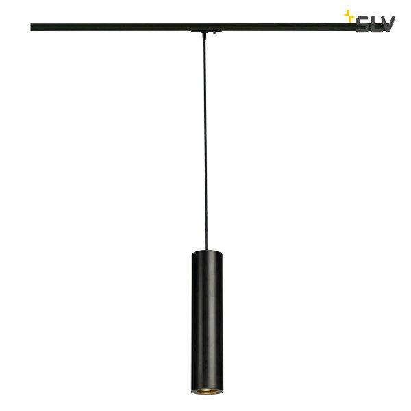 SLV 1-Fase-Rail hanglamp Enola B PD-1 GU10 mat zwart