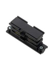 Global Trac Lighting Systems 3-Fase-Rail doorverbinder zwart