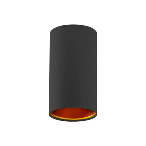 Spectrum LED Plafond opbouw spotje zwart-Goud