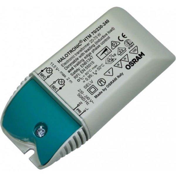 Osram HTM 20-70 Watt Transformator 12 Volt AC dimbaar