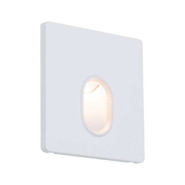 Paulmann Wand inbouw LED spot vierkant wit