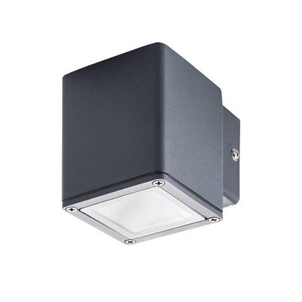 Kanlux Wandlamp neer schijnend antraciet GU10