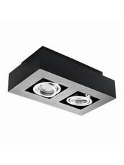 Kanlux Moderne plafondspot zwart GU10 2 spots