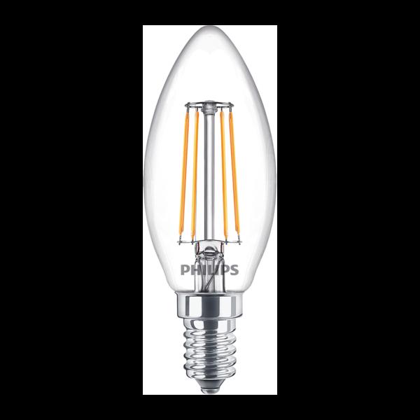 Philips Filament LED Lamp E14 4,5 Watt 2700K Warm Licht dimbaar