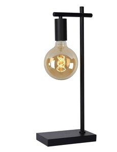 Lucide LEANNE Tafellamp E27/40W Zwart