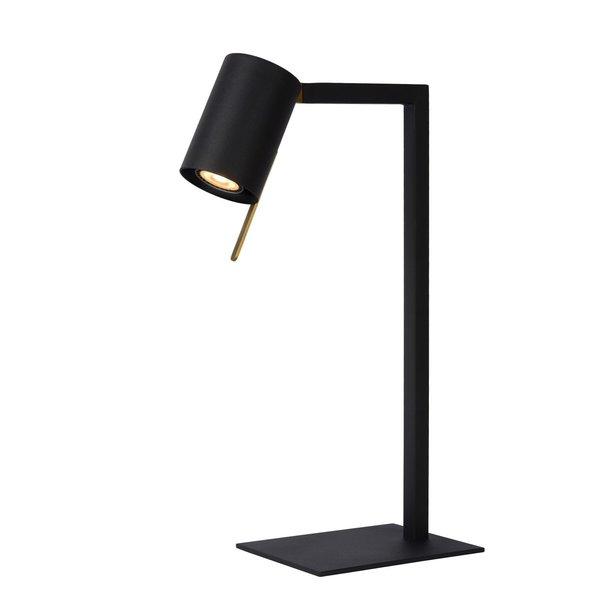 Lucide LESLEY - Bureaulamp - 1xGU10 - Zwart