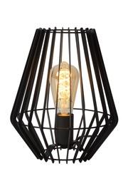 Lucide REDA - Tafellamp - Ø 23 cm - 1xE27 - Zwart