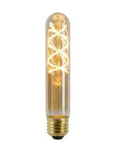 Lucide Filament lamp - Ø 3 cm - LED Dimb. - E27 - 5W 2200K - Amber