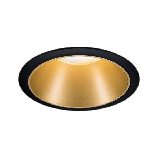 Paulmann Coin 3-stepdim LED 6W 2700K 230V Zwart/Goud